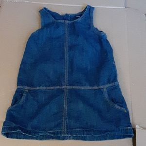 Baby Gap Denim Jumoer Size 3T